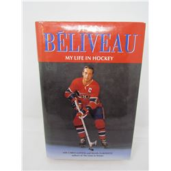 JEAN BELIVEAU, MY LIFE IN HOCKEY, AUTOGRAPHED