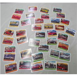 LOT OF DREAM CARS CARDS APPROX 40 SECOND EDITION, APPROX 20 DREAM CARDS