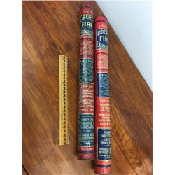 Vintage liberty fire extinguisher tubes