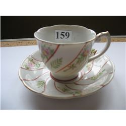 Cup & Saucer - Occupied Japan - Demitasse