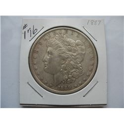 1889     United States Morgan Dollar