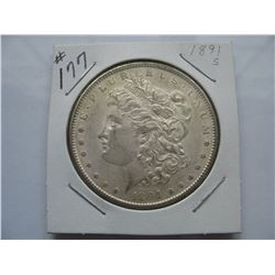 1891S  United States Morgan Dollar