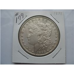 1898 United States Morgan Dollar