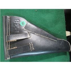 WWII GERMAN ARMY P-38 LEATHER HOLSTER (REPRO)