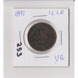 1891 LARGE PENNY VARITY