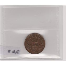 1923 CNDN SMALL PENNY ICCS VF-30