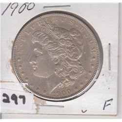 1900 US MORGAN SILVER DOLLAR