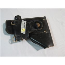 CANADIAN MILITARY POLICE/RCMP BLACK INGLIS BROWNING HI POWER HOLSTER
