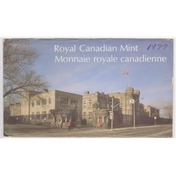 1977 UNCIRCULATED ROYAL CANADIAN MINT SPECIMEN SET