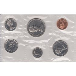 1969 UNCIRCULATED ROYAL CANADIAN MINT SPECIMEN SET