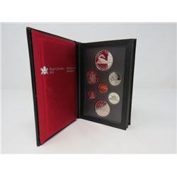 1986 UNCIRCULATED ROYAL CANADIAN MINT PROOF SET