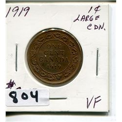 1919 CNDN LARGE PENNY