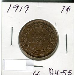 CANADA LARGE PENNY 1919