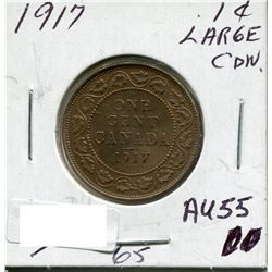 CANADA LARGE PENNY 1917