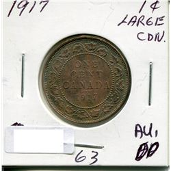 1917 CANADA LARGE PENNY