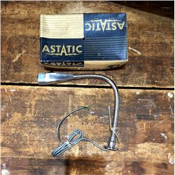Vintage Astatic Microphone With Original Box