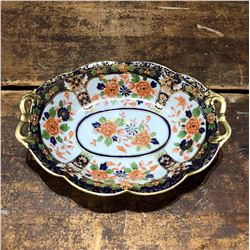 Vintage Handpainted Noritake Serving Dish