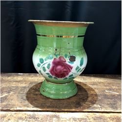 Vintage Chinese Enameled Urn or Planter