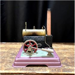 Vintage Miniature Steam Engine