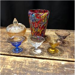 Lot of Decorative Glassware