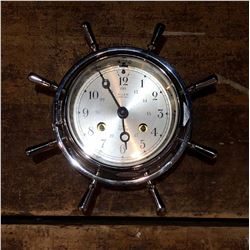 Salem German Ships Bell Nautical Clock