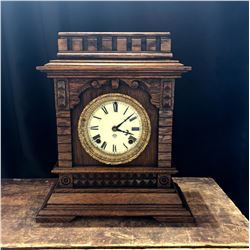 Antique Ansonia American Bracket Clock Syria Model ca. 1890-1900