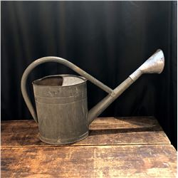 "Rare Antique German ""Flying Bat"" TGL Galvanized Watering Can"