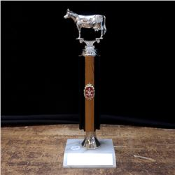 Prized Cow Vintage Trophy