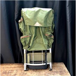 Vintage Camping Backpack