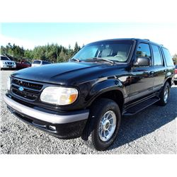 M2 --  1996 Ford Explorer , Black , 234594  KM's