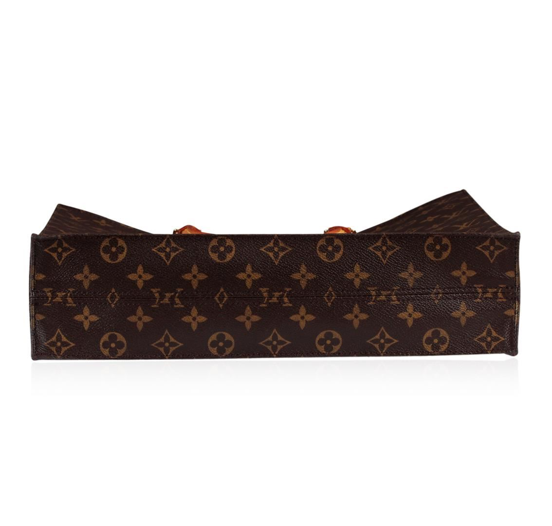 ... Image 4   Louis Vuitton Sac Plat NM Monogram Canvas ... 74b3e5ebec6