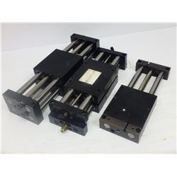 ROBOHAND (7) MISCELLANEOUS PNEUMATIC SLIDES - SEE PICS FOR MODEL #'S