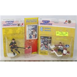 LOT OF NHL STARTING LINEUP FIGURINES INCL PATRICK