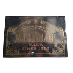 Vintage Michelob Beer Mirrored Sign