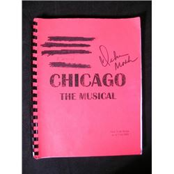 Chicago Broadway Musical Debra Monk Signed Script