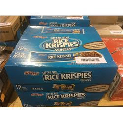 Rice Krispies Squares Double Chocolate Chunk (12 x 85g) Lot of 2