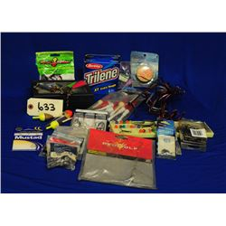 Assortment of Fishing accessories
