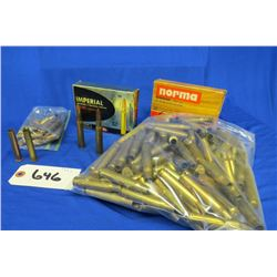 Lot of 30-06 and 39-55 casings 30-06 ammo