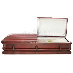 Laura Palmer's (Sheryl Lee) Red Aluminum Casket - TWIN PEAKS (1990 - 1991)
