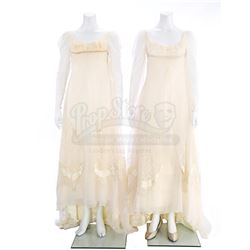 Josette Du Pres' (Joanna Going) Wedding Gown, Hero and Stunt Versions - DARK SHADOWS: THE REVIVAL (1