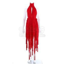 Catherine Chandler's (Linda Hamilton) Red Dress - BEAUTY AND THE BEAST (1987 - 1990)