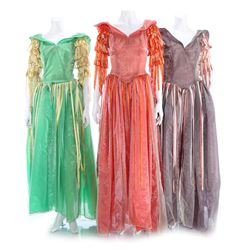 Three Colorful Ball Gowns - BUCK ROGERS IN THE 25TH CENTURY (1979 - 1981)