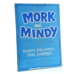 'Mork & Mindy' Hand-Painted Paramount Studios Sign - MORK & MINDY (1978 - 1982)