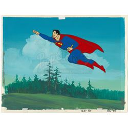 Superman Animation Cel - CHALLENGE OF THE SUPERFRIENDS