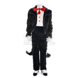 The Cat In The Hat's (Matt Frewer) Faux Fur Tailcoat Costume - IN SEARCH OF DR. SEUSS (1994)