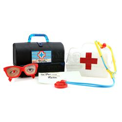 Pee-Wee Herman (Paul Reubens) and Miss Yvonne's (Lynne Marie Stewart) Toy Medical Bags and Supplies