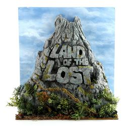 Opening Title Sequence Miniature Foam Logo Volcano - LAND OF THE LOST (1991 - 1992)