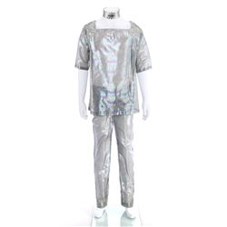 Ekor's (Erik Holland) Iridescent Silver Lamé Costume - STAR TREK: THE ORIGINAL SERIES (1966 - 1969)