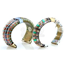 William Ware Theiss' Workroom Cuff Bracelets - STAR TREK: THE ORIGINAL SERIES (1966 - 1969) OR OTHER
