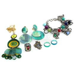 William Ware Theiss' Workroom Rings, Necklace, Bracelet and Earrings - STAR TREK: THE ORIGINAL SERIE